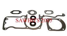 HYWAY HUSQVARNA 61,66,162,266,268,272 GASKET SET COMPLETE WITH CRANKSHAFT SEALS